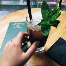 Drinking at 10am at Jameson Distillery