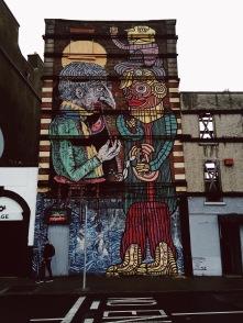 Streetart near Blackhall Walk