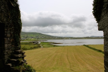 View from Ballycarberry Castle