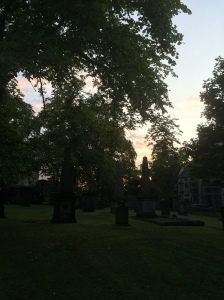 Greyfriars Graveyard searching for the Mackenzie Poltergeist