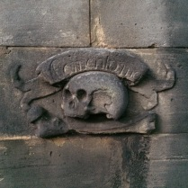 City of the Dead Tour - Covenanter's Prison in Greyfriars Graveyard.