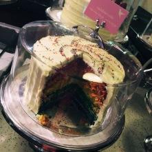 Hummingbird Bakery - Rainbow Cake