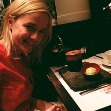 Nina with her Le Souffle