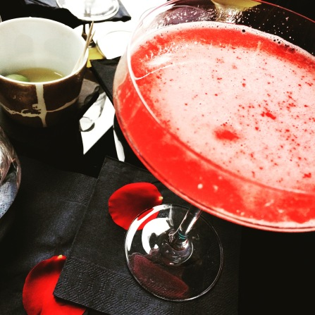 Raspberry & Chilli Martini