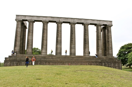 Calton's Hill -The National Monument of Scotland