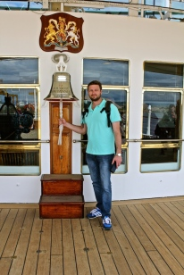 On Board - Royal Yacht Britannia