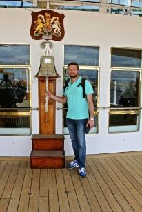 On Board - Royal Yacht Britannia