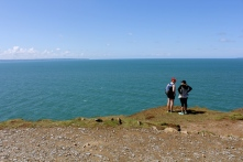 Hiking around Baggy Point